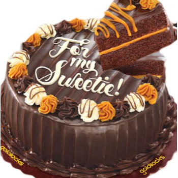 Goldilocks Choco Caramel Decadence Cake